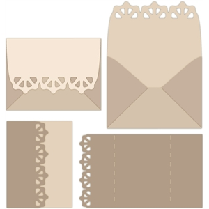 trifold card set