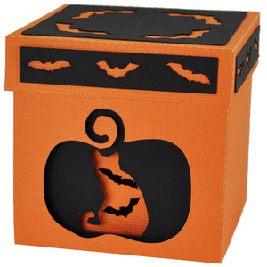 nesting halloween gift boxes - set of 3