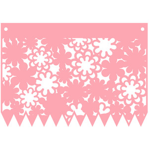 wedding flag banner