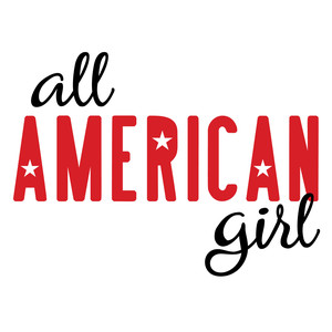 patriotic - all american girl