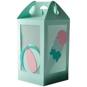 ice cream - beach ball summer lantern