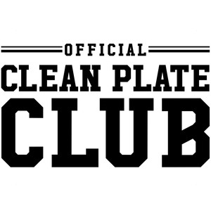 official clean plate club