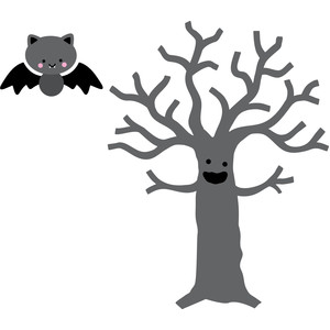 tree and bat
