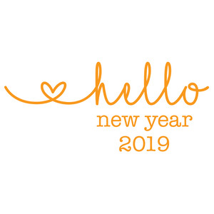 hello new year 2019
