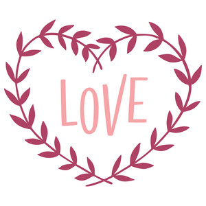 love and wreath