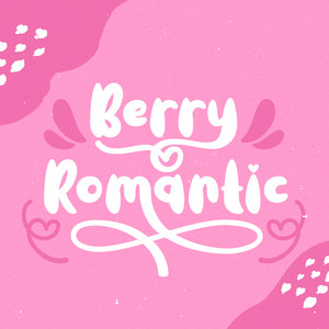 berry romantic font