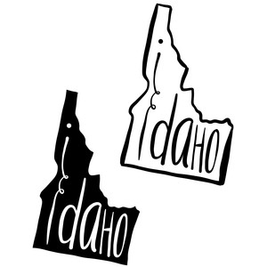 so cute type states - idaho