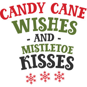 candy cane wishes phrase