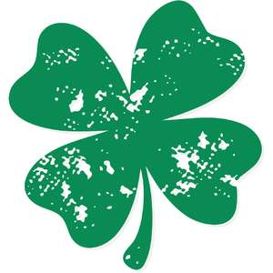 distressed clover