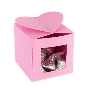 3d candy bow box