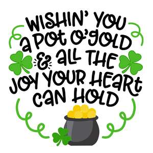 wishing you a pot o' gold