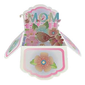 5x7 mother/mom popup card in a box
