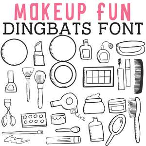 cg make up-y dingbats