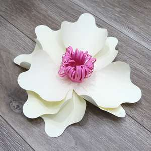 soft tight medium 3d flower