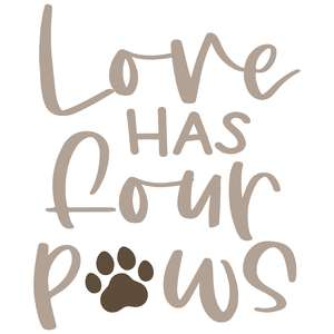 love has four paws