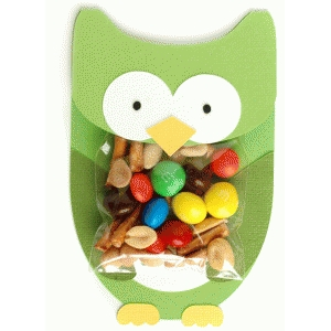 owl treat holder