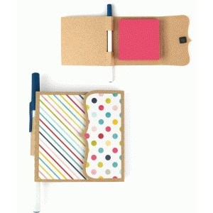 lori whitlock sticky note + pen holder