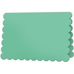 scalloped card