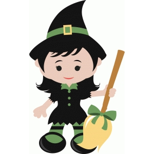 ppbn designs cute halloween witch