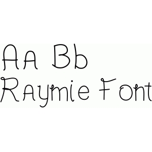 raymie font