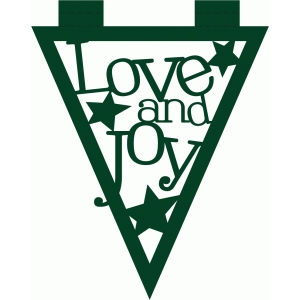 love and joy banner