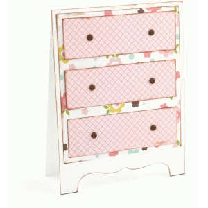 a2 dresser shaped card