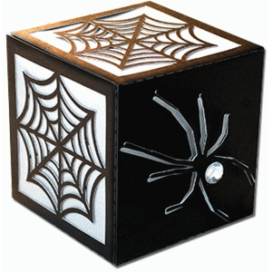 spider and web cube