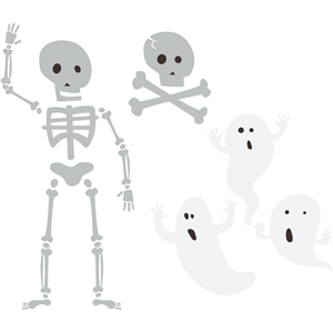 skeletons & ghosts