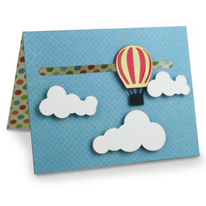 a2 air balloon motion card
