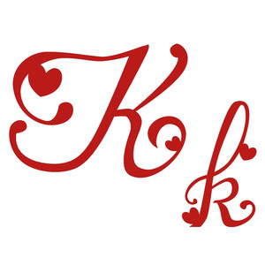 k romantic monogram