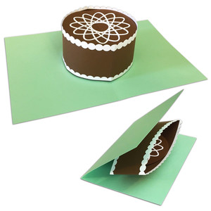 pop-up cake card