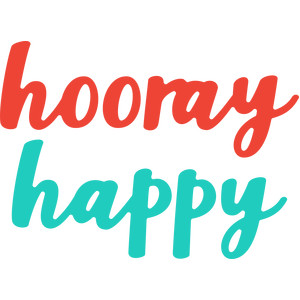 hooray happy words