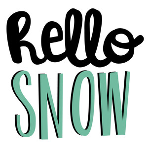 winter cuties - hello snow