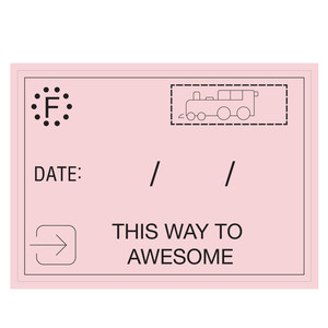 awesome date tag
