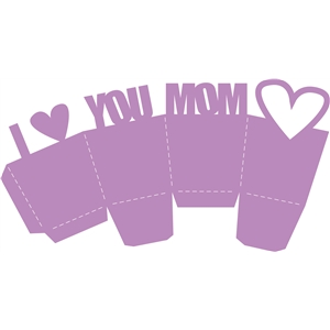 i love you mom box