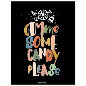 gimme some candy please printable