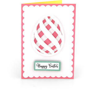 5x7 easter egg card card