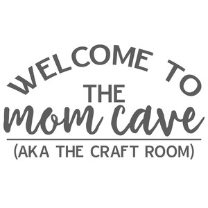 mom cave - craft room