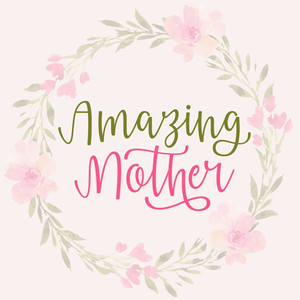 amazing mother font