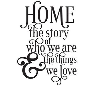 home story wall art