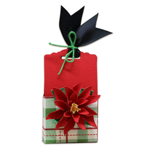 poinsettia treat box