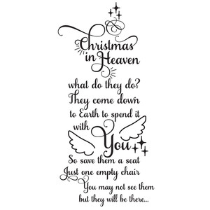 christmas in heaven quote