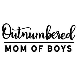 outnumbered mom of boys