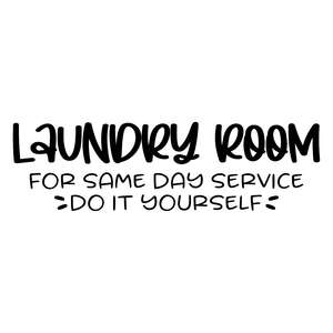 laundry room for same day service