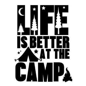 life is better at the camp