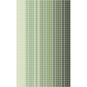 garden greens grid washi sticker border planner tape