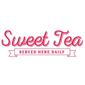 sweet tea served here daily
