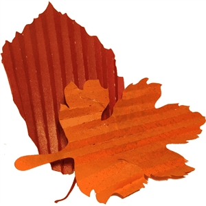 accordion folded leaves