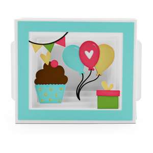 shadow box card birthday