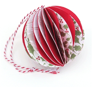 3d accordion christmas tree ornament